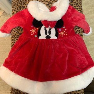 Disney Baby Velvet Christmas Dresses